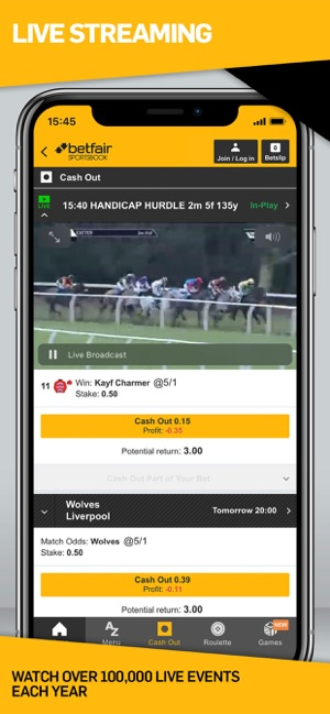 Betfair Sports Betting on the App Store