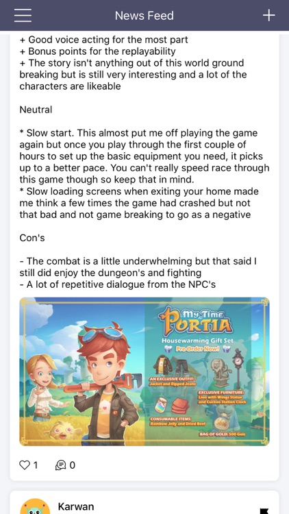 GameNets - My Time At Portia