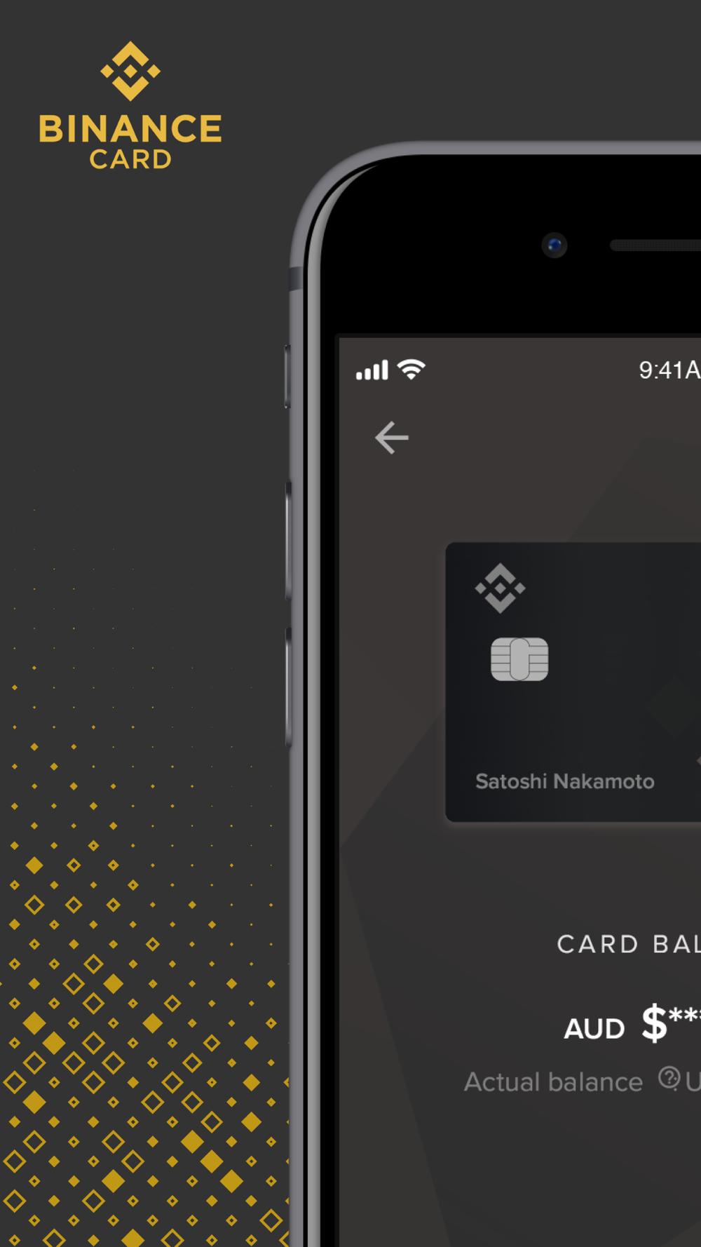binance card app