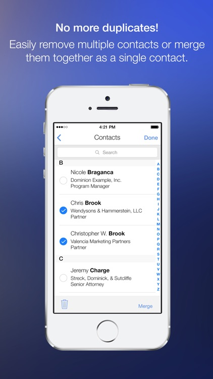 Cleanup Duplicate Contacts! screenshot-3