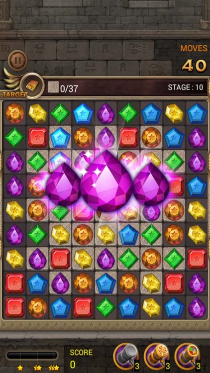 Jewels Temple Quest : Match 3 screenshot-0