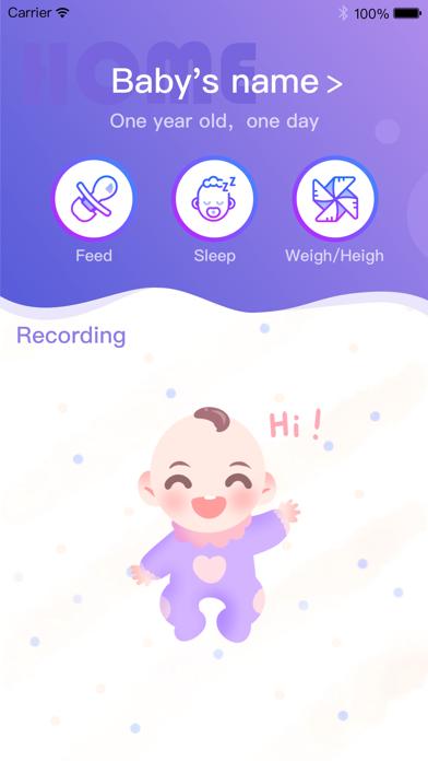 BabyGrowth - Track baby growth screenshot 1