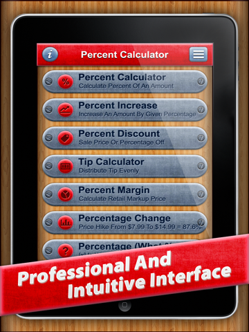 7 in 1 : Percentage Calc HD - náhled