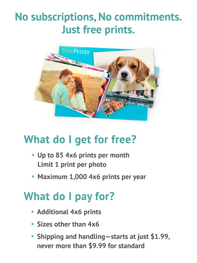 FreePrints – Photos Delivered on the App Store