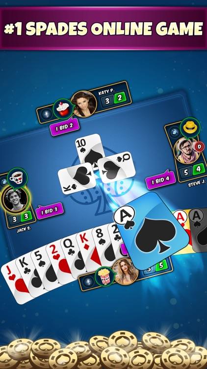 Spades Online Card Game screenshot-0