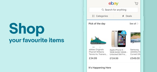 98632fcd97e eBay Shopping  Buy and Sell on the App Store