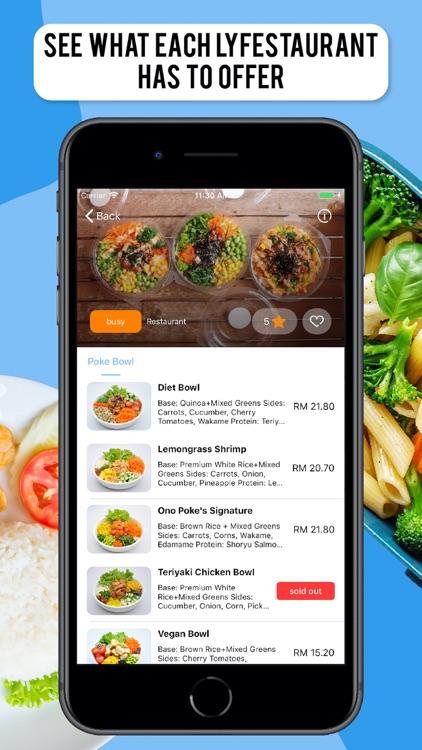 Lyfe | Kuching Food Delivery