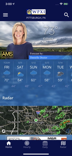 WPXI Severe Weather Team 11 on the App Store