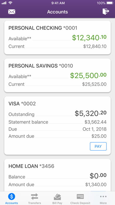 Bank5 Connect Mobile screenshot two