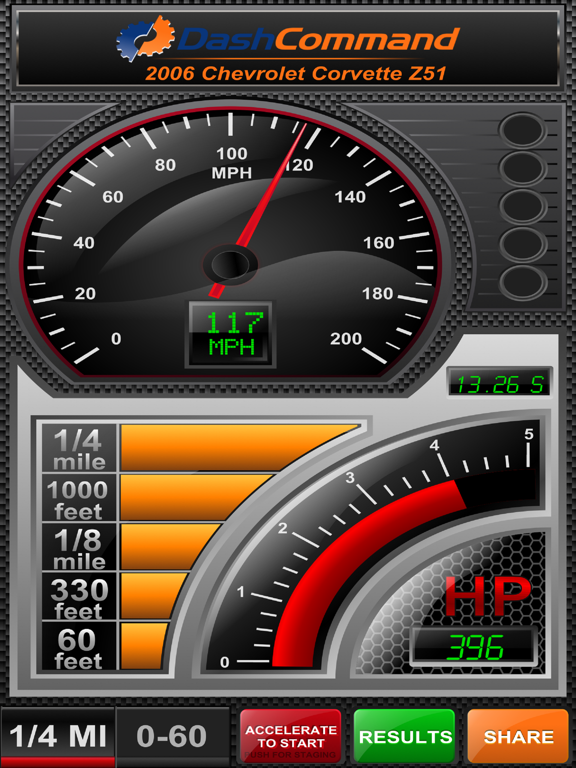 DashCommand - OBD-II Gauges Screenshots