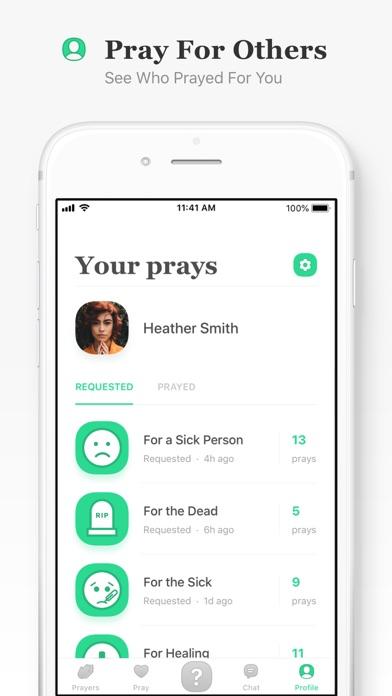 Ask Up - Request & Pray Screenshot