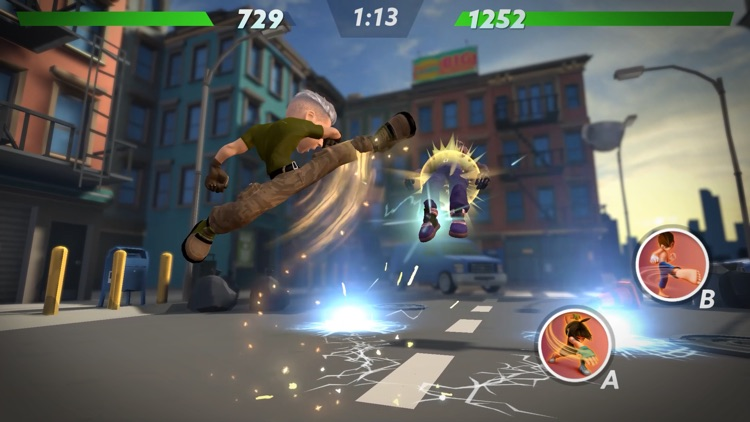 uFighter: 3D PvP Fighting Game screenshot-6