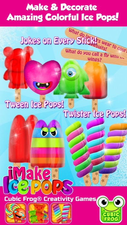 Popsicle Maker Ice Cream Games screenshot-0
