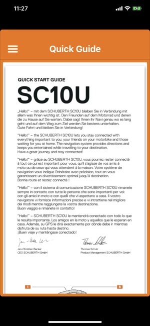 SCHUBERTH on the App Store