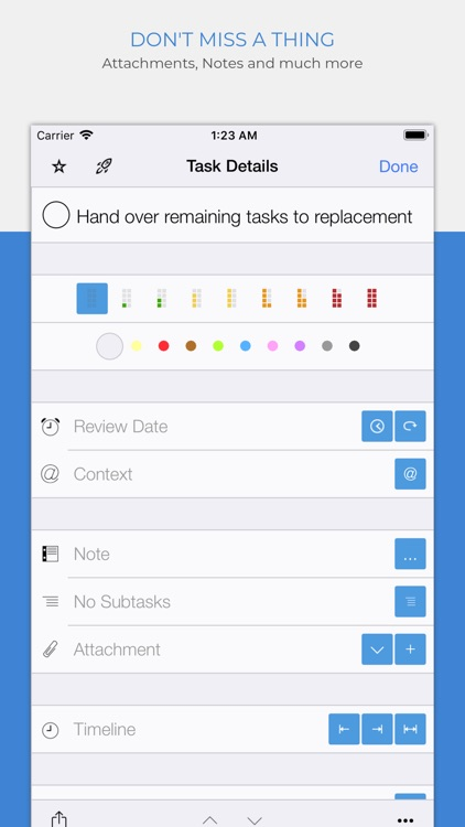 Organize:Me To-Do's screenshot-3