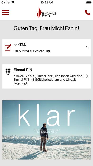 BAWAG P.S.K. Security App screenshot four