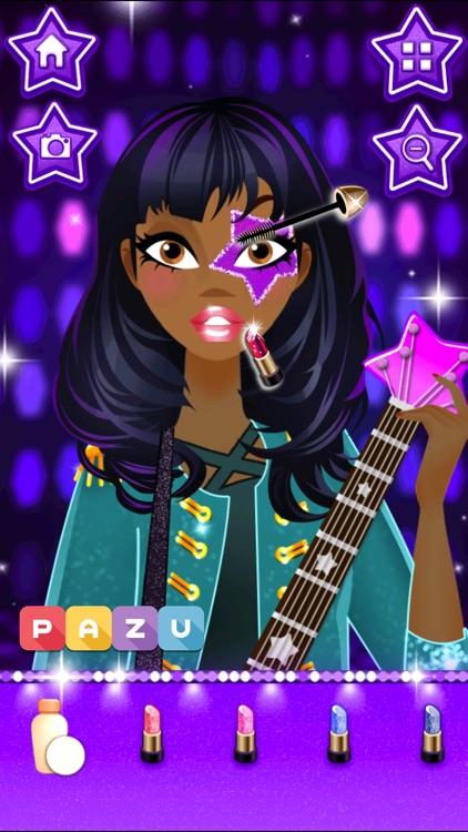 Games for girls star dress up