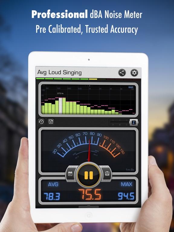 Screenshot #4 pour Décibel X PRO - dBA Sonomètre