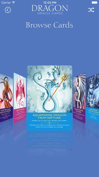 Dragon Oracle Cards screenshot-4