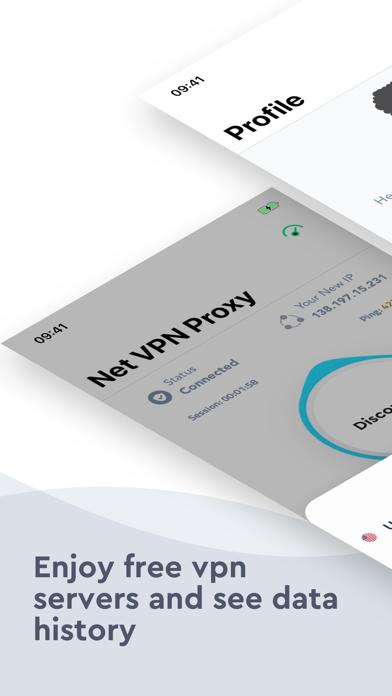 Screenshot for Net VPN in United States App Store