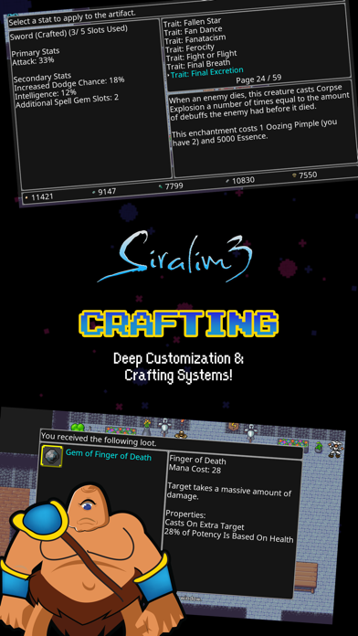 Screenshot from Siralim 3 (Monster Taming RPG)