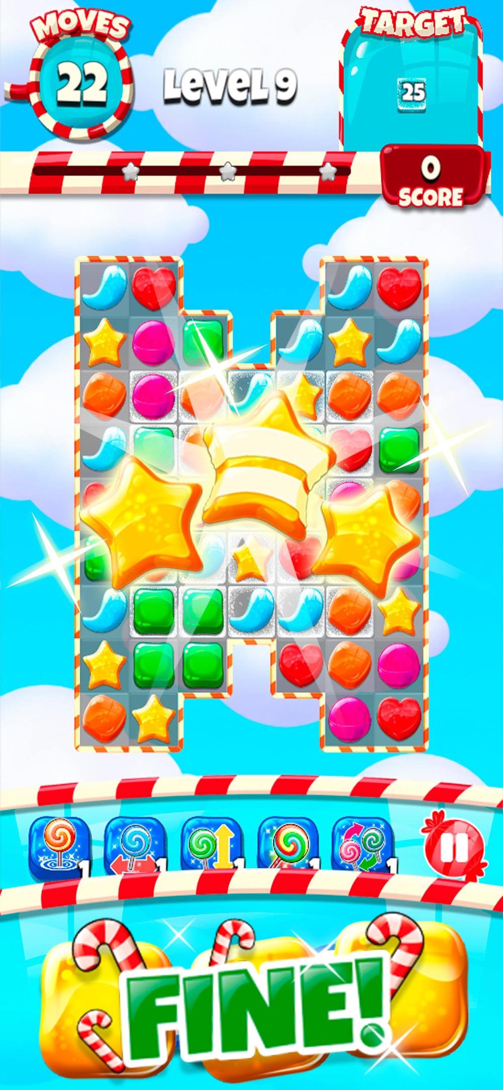 Candy Pop – Match 3 Jam Cheat Codes