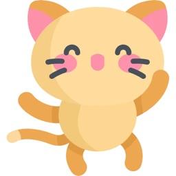 Lovely Kitty Sticker Pack