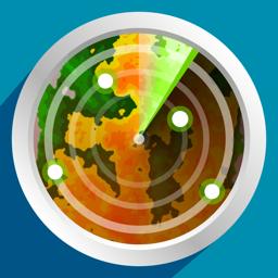 Ícone do app PocketRadar - my weather radar