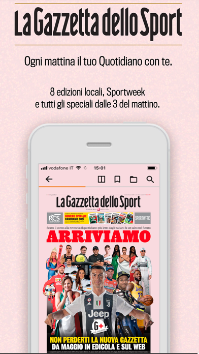 La Gazzetta Dello Sport Quot review screenshots