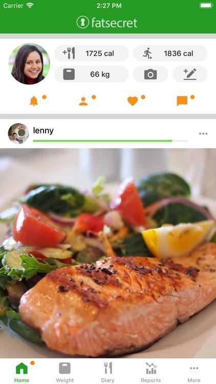 Calorie Counter by FatSecret screenshot-0