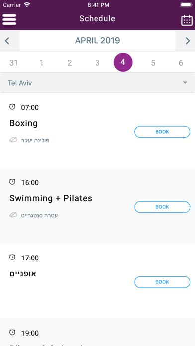 PURE - gym & studio screenshot 4