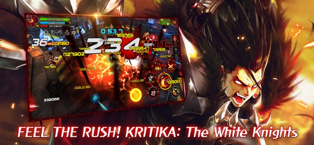 Hack Game Kritika: The White Knights ipa free