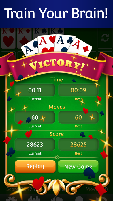 Solitaire  ‏‏‎‎‎‎ ‏‏‎‎‎‎ screenshot 3