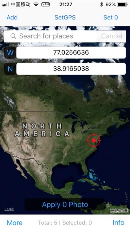 Photo GPS Modifier screenshot-0