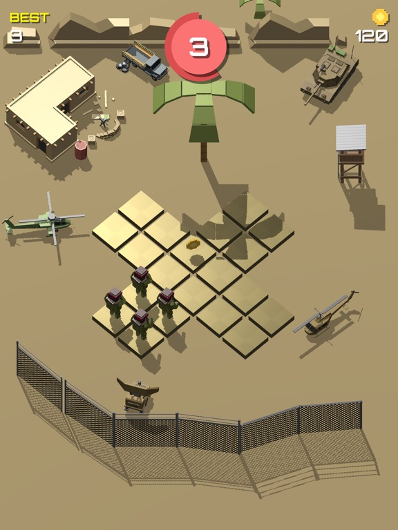 Pixel 3D - Soldier Gamesのおすすめ画像4