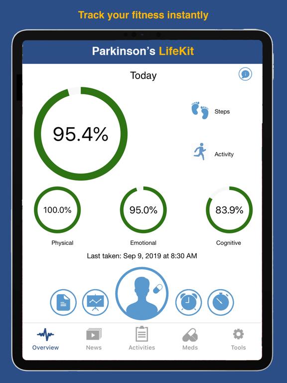 Parkinson's LifeKit Screenshots