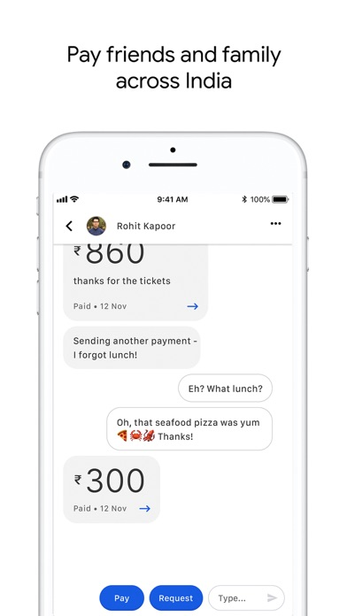 Screen Shot Google Pay for India (Tez) 5