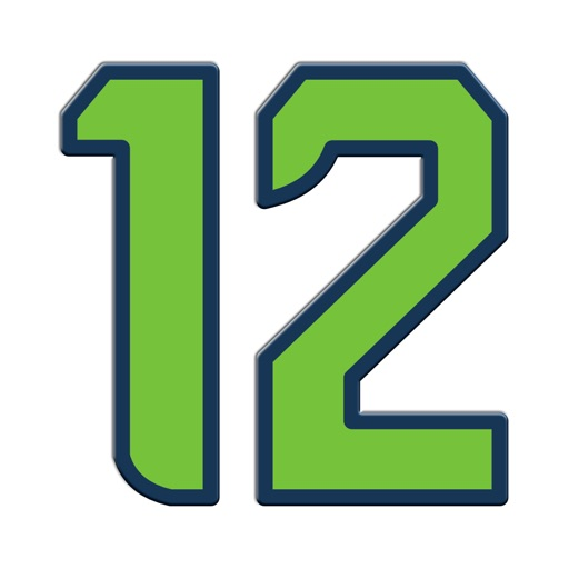12 The Seahawk Stickers