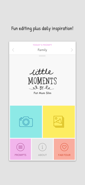 ‎Little Moments by Fat Mum Slim Screenshot