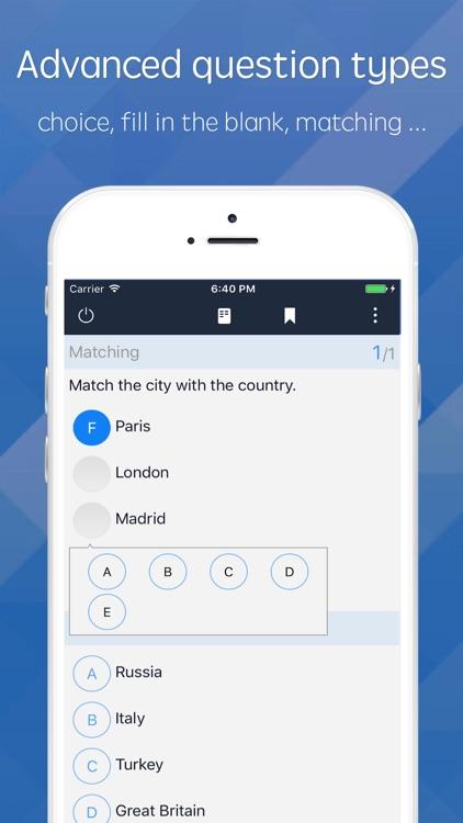 MTestM - An exam creator app screenshot-4