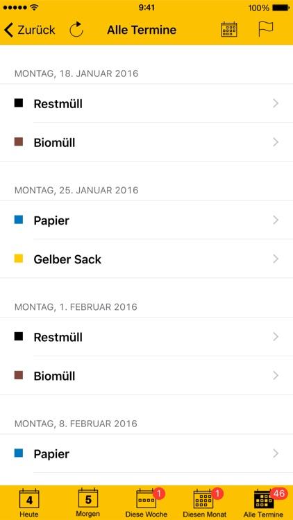 Abfall App FDS
