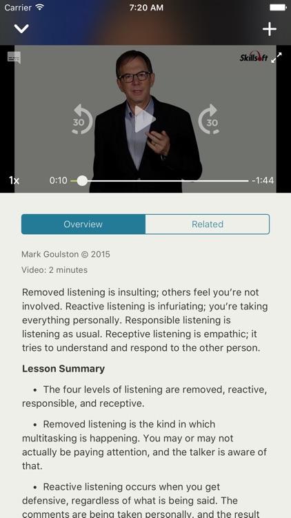 Skillsoft Learning App screenshot-5