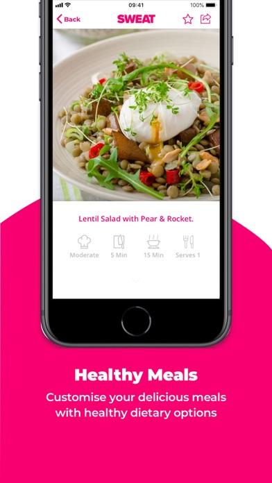 Screenshot for SWEAT: Kayla Itsines Fitness in Turkey App Store