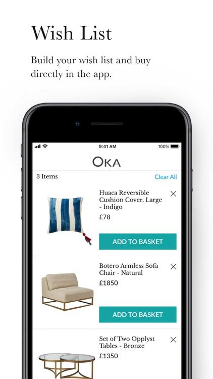 OKA - Luxury British Interiors screenshot-3
