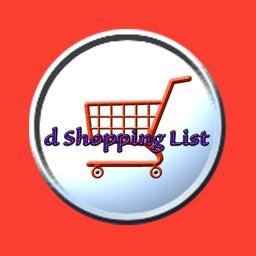 d Shopping List