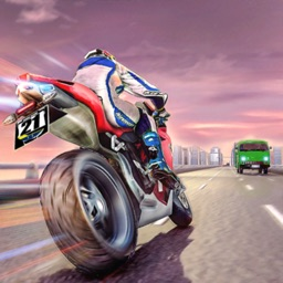 Highway Bike Racing Simulator
