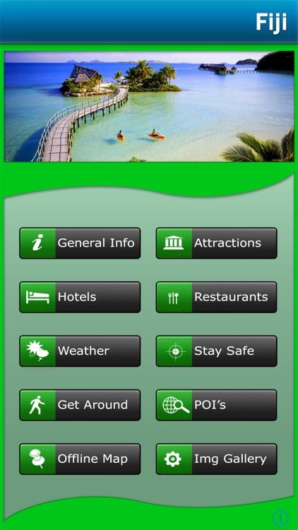 Fiji Islands Offline Map Guide