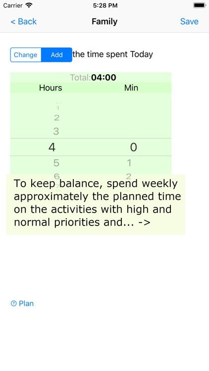 Activities and Priorities
