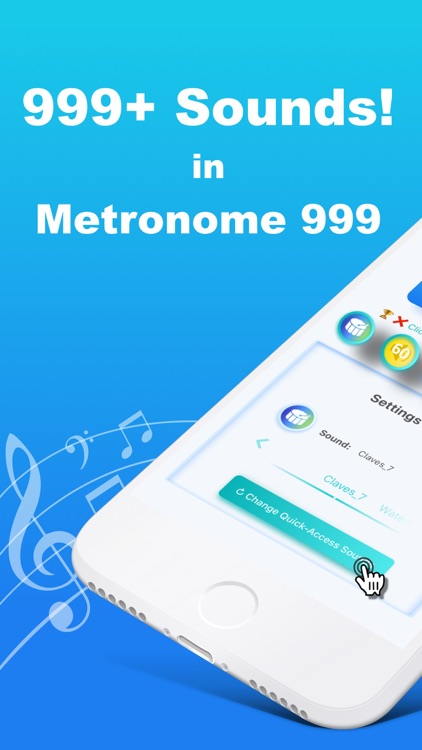 Metronome 999 - Beat,Tempo,BPM
