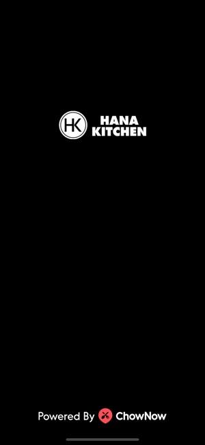 Hana Kitchen On The App Store